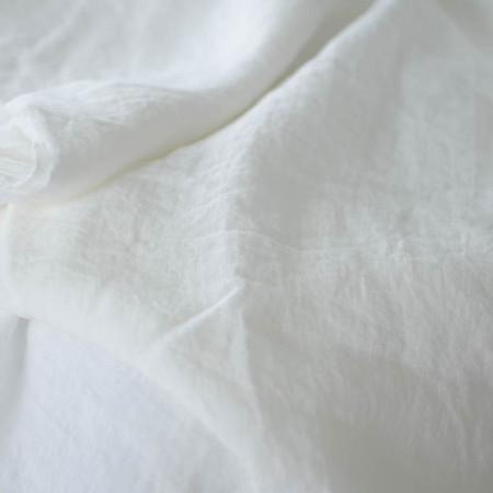 Lin lavé Lyana blanc cassé